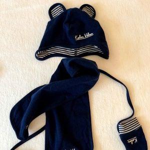 Hat, scarf, gloves set - French Brand